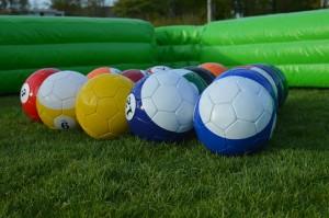 poolvoetbal spelen bij 4-Skills