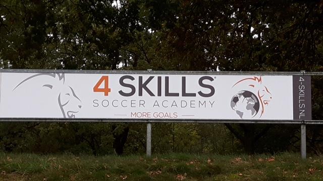 4-Skills nu ook naast het veld te bewonderen!!